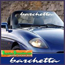 Barchetta Fiat 100 cm Aufkleber Sticker Tuning