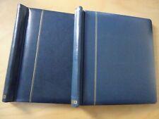 2 Schaubek Klemmbinder blau gebraucht (16428)