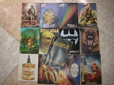 LOTE BOLETINES DISCOPLAY B.I.D_20 AÑOS_ DEL 86 HASTA 2006 + 13 BID XPECIAL METAL