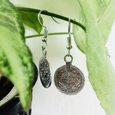 Vintage Look Bohemian Coin Dangle Earrings