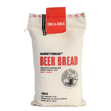 Beer Bread Mix - Chilli and Garlic - 2 x 450g - For lovers of baking