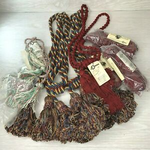Lot of Assorted Conso Curtain Drapery or Chair Tiebacks