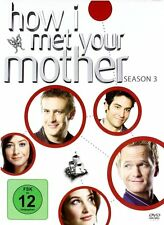 HOW I MET YOUR MOTHER, Season 3 (3 DVDs) NEU+OVP