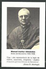 Holy card Martir Guerra Civil Española santino image pieuse estampa