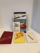Vintage Win, Lose, or Draw Car, Plane, Vacation Travel Game, Milton Bradley