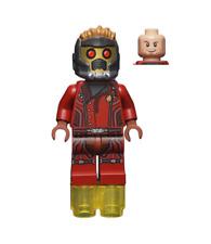 LEGO Minifigure Star-Lord short Marvel Guardians Galaxy sh474 FREE POST