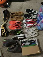 Lot of 9 Pairs Of Used Shoes Sz 11,11.5, And 12 Men's