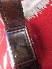 ancienne montre bracelet vintage automatique omega T17 art deco chronographe