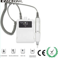 30000RPM Rechargeable Acrylic Electric Nail File Drill Machine Manicure White