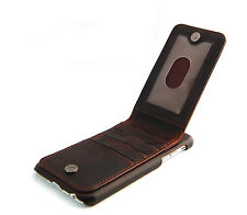 iPhone 6 Brown Classic Genuine Leather wallet case