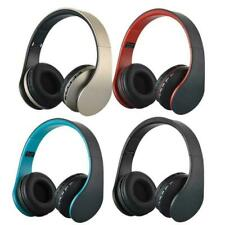 Wireless Headset Stereo Headphones Earphone With Mic For Cell Phone PC