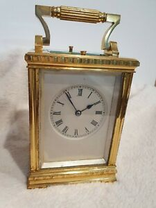 Rare S JRETY HELLER 5-Minute Repeater Striking Carriage Clock
