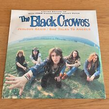 The Black Crowes - Jealous Again (12'' Vinyl Single + Jacket Patch, Sealed)