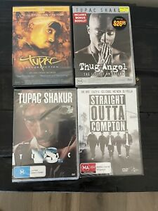 Tupac DVD Collection - Tupac Resurrection, Thug Angel, Straight Outta Compton