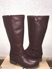 UGG DAHLEN BOURBON LEATHER RIDING WATER RESISTANT BOOT US 8.5 / EU 39.5 / UK 7