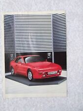 PORSCHE 944 1996 POSTER ADVERT READY FRAME A4 SIZE