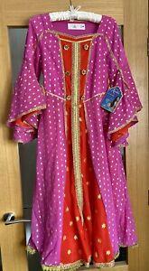 Girls Official Disney Store Princess Jasmine Fancy Dress Costume