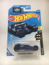 Hot Wheels Mattel Batman 4/5 THE DARK KNIGHT BATMOBILE Blue