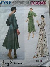 VOGUE AMERICAN DESIGNER DRESS by JERRY SILVERMAN