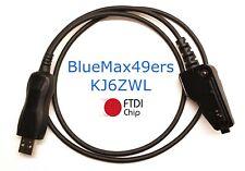 FTDI USB Kenwood TK-8180  TK-8185 Programming Software KPG-96D /& Cable KPG-46