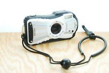Ricoh WG-20 Digital Camera- 14MP 5x Zoom, Water/Shock/Cold/Crush Proof, 4GB Card