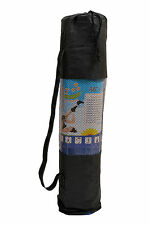 Yoga Mat 6MM Anti Skid washable with cover for exercise Fitness,Meditation,Yoga.