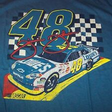 VINTAGE STYLE JIMMIE JOHNSON #48 NASCAR T-Shirt SMALL NEW w/  TAG