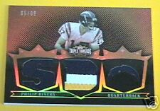 PHILIP RIVERS 2007 TRIPLE THREADS 4 COLOR 3 JERSEY /9 ~