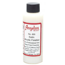 Angelus Brand Acrylic Clear Paint Finisher - Satin Gloss - 4oz