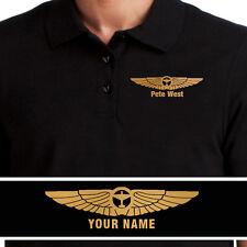 Aeroclassic - Personalised Aviation CPL PPL Pilot Polo Shirt