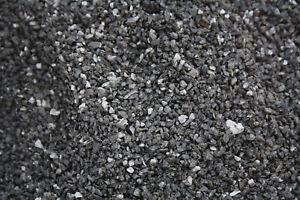 (ab € 0,69/kg) Aquariumgrund Boden Ziersplitt  Deko schwarz 1-3mm