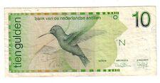 Antille Olandesi  10 gulden   1986  BB Good    pick 23a   lotto 127
