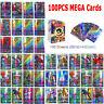 100Pcs pokemon Cards 95 GX + 5 MEGA Holo Trading Flash Card Game Bundle Mixed