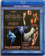 HALLOWEEN 3 MOVIE COLLECTION BLU RAY RARE OOP H20 RESURRECTION MICHAEL MYERS 6