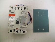 Cutler Hammer FD3080 3 Pole 80 Amp 600 Volt Circuit Breaker W/AuxSwitch&Barrier