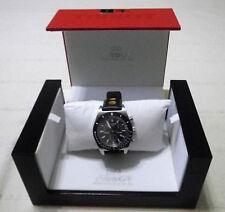 Tissot PRS 516 Chronograph (T1004171605100) Men's Wristwatch with Black Leather