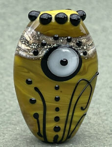 Handmade Lampwork Focal Bead ~  Mystery Mountain ~ By Soul Of Glass SRA