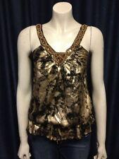 Chiffon Clubwear Spaghetti Strap Sleeve Regular Tops & Blouses for Women