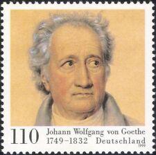 Germany 1999 Goethe/Writers/Authors/Books/Writing/Literature/People 1v (n45024)