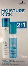 Moisture Kick : Champu Shampoo 250ML + Spray Conditioner 200ML SchwarzkopF