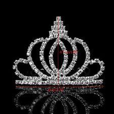 Bridal Rhinestone Crown Comb Tiara Hair Band Headband Wedding Jewelry Pageant