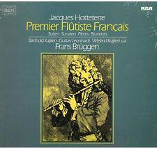 Hotteterre: Premier Flutiste Français / Bruggen, Kuijken, Leonhardt - LP