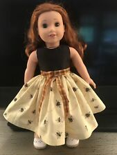 "BUMBLEBEES Dress Clothes For 18"" American Girl Doll, Alexander, Gotz (Cenci)"