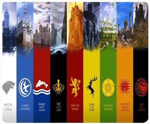 Game of Thrones Custom Design Cool Gaming Mouse pad Mouse Pad Mat