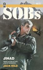 SOBs JIHAD By JACK HILD Worldwide Library PB 1986 1st #12