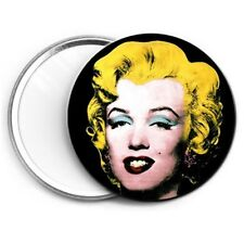 Marilyn Monroe Andy Warhol Pop Art Kitsch Compact Mirror Art Aesthetic