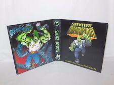 Custom Made Savage Dragon Trading Card Album Binder
