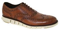 Cole Haan Men's ZeroGrand Wingtip Oxford Brown Style C14493