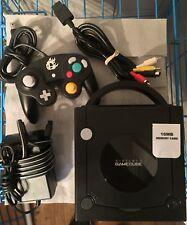 Nintendo GameCube w/ Smash Bros. Controller & 16Mb Memory Card. Jet Black