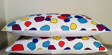 "Pillow Cover, Multi Color 12""x 20"" Rectangle, NWT"